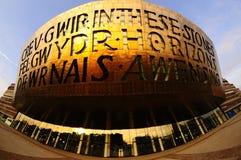 Cardiff-Jahrtausend-Mitte Stockbild