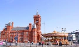 Cardiff - Kammer von Kaufleuten Stockfotografie
