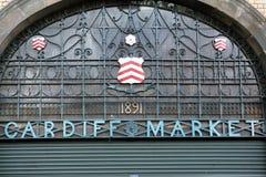Cardiff-Markt Lizenzfreie Stockfotos