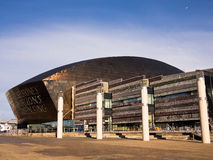 Cardiff Millenium Centre, Wales, UK Stock Photography