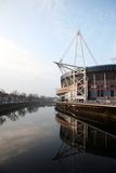 Cardiff  Millennium Stadium Royalty Free Stock Images