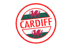 CARDIFF Royalty Free Stock Images