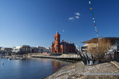 Cardiff-Schacht Stockbild
