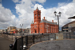 Cardiff-Schacht Stockfotografie