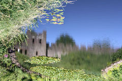 Cardiff-Schloss Lizenzfreies Stockfoto