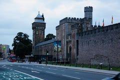 Cardiff slott Royaltyfri Foto
