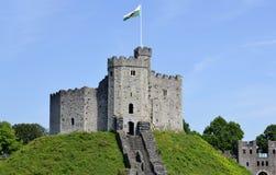 Cardiff slott Royaltyfri Bild