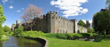Cardiff slott Royaltyfri Fotografi