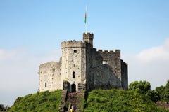 Cardiff slott Fotografering för Bildbyråer