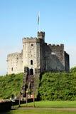 Cardiff slott Arkivbilder