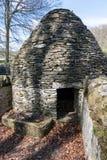 CARDIFF/UK - 19-ОЕ АПРЕЛЯ: Круговой свинарник на высокой St Fagans национальная Стоковое Изображение