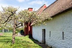 CARDIFF/UK - 19 APRIL: Kennixtonboerderij bij St Fagans Nationa stock foto