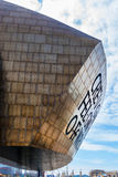 CARDIFF/UK - AUGUST 27 : Millennium Centre in Cardiff on August Stock Image