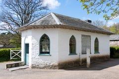CARDIFF/UK - 19 DE ABRIL: Tollhouse en la historia del nacional del St Fagans Fotografía de archivo