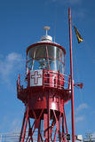 CARDIFF, WALES - MARCH 23 : Partial view of Lightship 2000 tower Royalty Free Stock Photo
