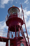 CARDIFF, WALES - MARCH 23 : Partial view of Lightship 2000 tower Stock Image