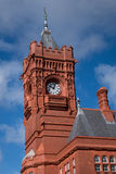 CARDIFF, WALES - MARCH 23 : View of the Pierhead Building in Car Stock Photo