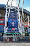 Cardiff, Wales - May 21, 2017: Millennium Football Stadium Stock Photos