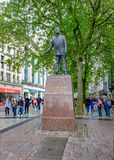 Cardiff, Wales - May 20, 2017: Statue of Aneurin Bevan Stock Photo