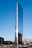 CARDIFF, WALES/UK - 26. DEZEMBER: Die Wasserturm-Cardiff-Bucht herein Lizenzfreies Stockfoto