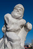 CARDIFF, WALES/UK - 26. DEZEMBER: Scott Antarctic MemorialC Lizenzfreies Stockbild