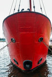 CARDIFF WALES/UK - NOVEMBER 16: Partisk sikt av fyrskeppet 2000 Royaltyfri Foto