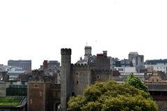 Cardiff, Wales, van hierboven royalty-vrije stock fotografie