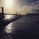 Cardiff zatoka Obraz Royalty Free
