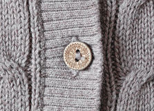 Cardigan button Royalty Free Stock Photo