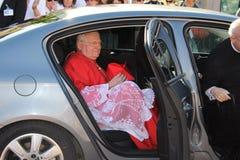 Cardinal Angelo  Scola - Parabiago Italy Royalty Free Stock Photography