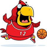 Cardinal Basketball de bande dessinée Photo stock
