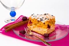 Cardinal cake with rum cherry. From Hungary Stock Photos