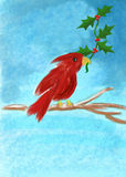 Cardinal Christmas Stock Photo