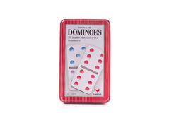 Cardinal Dominoes Royalty Free Stock Images