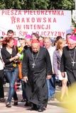 Cardinal Dziwisz Stock Image