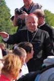 Cardinal Dziwisz Stock Photography