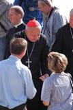 Cardinal Dziwisz Royalty Free Stock Photo