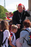 Cardinal Dziwisz Royalty Free Stock Image