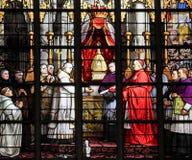 Cardinal et le sacrement du miracle Photos libres de droits
