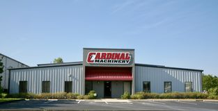 Cardinal Machinery Stock Images