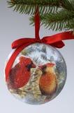 Cardinal Ornament Stock Photo