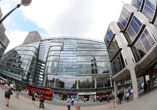 Cardinal Place development in London Royalty Free Stock Images