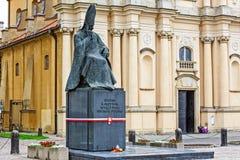 Cardinal Primate Stefan Wyszynski monument Stock Images