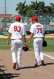 Cardinaux de MLB St Louis images libres de droits