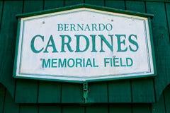 Cardines Memorial Field, Newport, Rhode Island. Cardines Memorial Field, in historic, Newport, Rhode Island. Home of the Newport Gulls stock photography