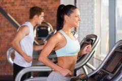 Cardio addestramento Immagini Stock