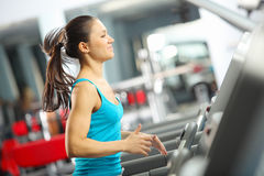 Cardio allenamento Immagine Stock Libera da Diritti