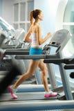 Cardio allenamento Fotografia Stock Libera da Diritti