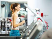 Cardio allenamento Fotografia Stock
