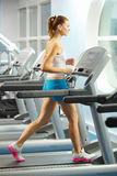 Cardio allenamento Fotografie Stock Libere da Diritti